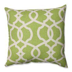 Pillow Perfect Lattice Damask Leaf Throw Pillow, 16.5-Inch Pillow Perfect http://www.amazon.com/dp/B00DFU3YIC/ref=cm_sw_r_pi_dp_k.sSwb1F0C8RW
