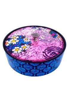 A Loja do Gato Preto | Caixa Redonda Flores Rosa #alojadogatopreto
