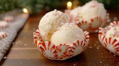 Peppermint Candy Bowls