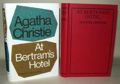 Agatha Christie - At Bertram& Hotel- 2013 - Facsimile Edition, At Bertram's Hotel, The Moving Finger, Agatha Christie, Novels, Learning, Books, Ebay, Vintage, Libros