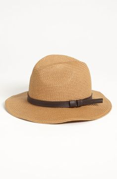 Straw Fedora available at  Nordstrom  20 Sombreros 4d1ffa1b25c