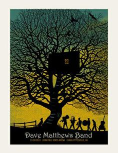 lovelovelove this print - DBM/methane studios charlottesville treehouse print 2010. can't find for sale anywhere!