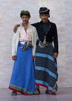 Flower Men from Asir - Saudi Arabia
