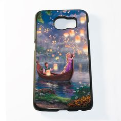 Rapunzel Disney Tangled Boat Kights Samsung Galaxy S6 and S6 Edge Case – Resphonebility