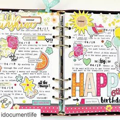 Such a bright & happy Carpe Diem planner spread from creative team member @idocumentlife using the brand new Simple Stories Sunshine & Happiness collection!  See the full collection now on the blog (link in profile) #SSSunshineandHappiness #repost @idocumentlife with @repostapp. ・・・ Have you all hopped over to the @simplestories_ blog (link in their profile) to see the BRAND NEW #SimpleStories lines? They revealed this new line today, Sunshine and Happiness, and it is soooo cute. I couldn't…