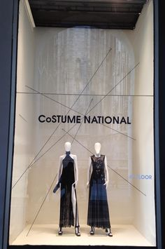 La Rinascente during Fashion Week ! Spring 2015 collection - Milan fashion windows