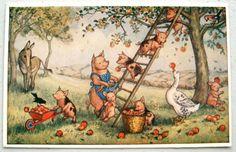 'PIcking Apples',  Molly Brett