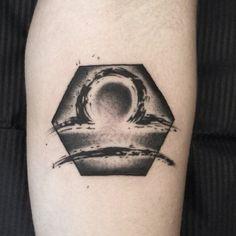 #libra #libratattoo #bilancia #bialnciatattoo #black #blxckink #blackink #blacktattoo #blackart #blacktattooing #blackbear #blackwork #blackworkers #dark #darkink #darkartists #darktattoo #dotwork #dotworktattoo #zosa #zosatattooer #zodiac #femaletattooartist #italianblackworkers #tattoo #tattooer #tattooist by zosa_tattooer