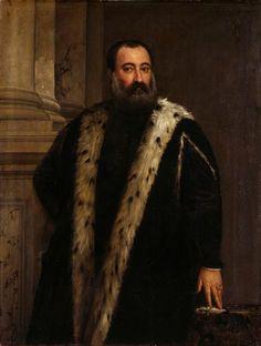 Portrait of Alessandro Contarini   Veronese, Paolo (painter)  Around 1565/70   Gemäldegalerie Alte Meister
