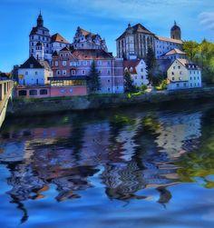 Neuburg an der Donau (Neuburg on the Danube), Bavaria  via Steve Dagger
