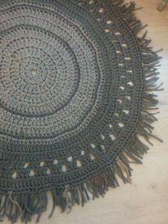 tutorial diy alfombra trapillo ganchillo Blogger blog patrones y Handmade