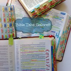LOVE these super cute Bible Tabs from Farm Girl Journals! They are laminated so they are very durable and they make finding any scripture a snap. Perfect for Bible Studies, Journaling Bibles, children's Bibles and so much more!