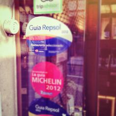 Enchufados!  www.restaurantecasalucio.com