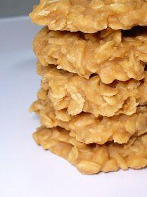 Leenee's Sweetest Delights: Peanut Butter No Bake Cookies