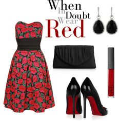"""""""Red Roses"""" by srose38 on Polyvore"""