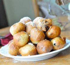 Fried Nutella Balls.  Let me say that again - FRIED NUTELLA BALLS.