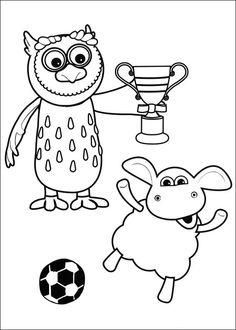 Coloriage Dessins. Dessins à imprimer et la couleur en ligne. Timmy le mouton 34
