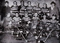 Minnesota's first High School Boys Hockey Champions, Eveleth, 1945. To date, they have won seven titles.