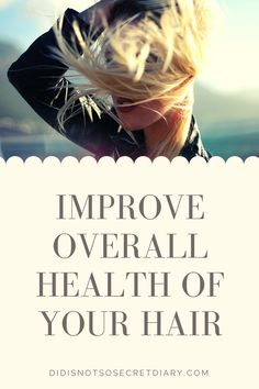 How To Improve Overall Health Of Your Hair, Due to time, hair coloring, blow-drying, and ironing, our hair loses that beauty. It's getting more and more damaged and...find out more... #hair#care#products
