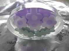 Bath and Beauty elegant french lavender glycerin soap