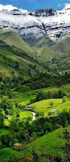 *NORTHERN SPAIN ~ has certainly wonderful landscape, some do not seem real . The north of Spain counts with some of the most beautiful landscapes in Europe, some places are just unbelievable like this one in Cantabria. Places To Travel, Places To See, Places Around The World, Around The Worlds, Wonderful Places, Beautiful Places, Amazing Places, Beautiful Scenery, Amazing Things