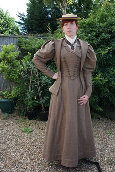 Victorian Walking Dress, Victorian Riding Dress, Victorian Ladies Suit, 1890s by everybodylovesluci on Etsy https://www.etsy.com/listing/217274471/victorian-walking-dress-victorian-riding