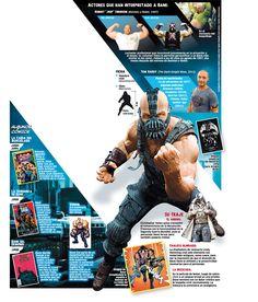 Conoce a Bane, el enemigo de Batman en la película The Dark Knight Rises.