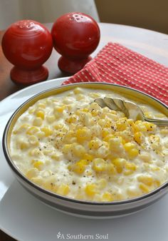 . Corn Dishes, Veggie Side Dishes, Vegetable Dishes, Vegetable Recipes, Vegetable Ideas, Corn Recipes, Side Dish Recipes, Crockpot Recipes, Crockpot Dishes