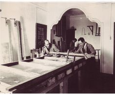 art conservation in 1936, Barcelona   http://mireiaxarrie.com