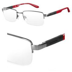 fe0c82a4947 Carrera 8820 Eyeglass Frames CA8820-0DF7-5519 - Ruthenium Red Frame