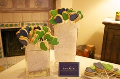 Recap: Stock the Bar Engagement Party! | Hosting & Toasting - engagement party - hosting - toasting - nico and lala - preppy - theme - wedding planning - bride to be - couple shower - stock the bar - preppy - koozies - cookie sandwiches