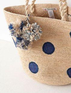 Варианты пляжных сумок. Какую выбрать?     Варианты пляжных сумок. Какую выбрать? Варианты пляжных сумок. Какую выбрать? Art Bag, Pencil Bags, Basket Bag, Summer Bags, Cute Bags, Knitted Bags, Bag Making, Straw Bag, Purses And Bags
