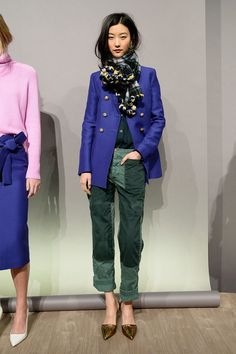 J.Crew Fall 2015: Cue Your Inner-Fashion-Girl Freakout: J.Crew is not the place it was when my mom first took me there in grade school, and the Fall 2015 lineup is maybe the surest proof of its evolution as a fashion girl's brand, not a place to buy a sturdy boot or staple Winter jacket.