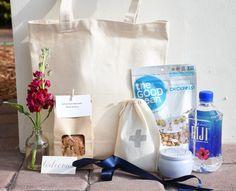 Wedding Welcome Bag // Wedding Welcome Gift // by cottonandcrumbs
