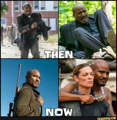 starting to love Father Gabriel , so he'll probably die soon #TWD