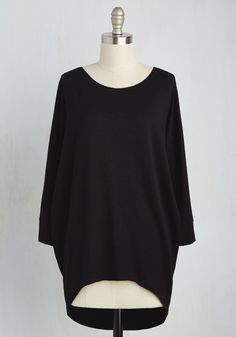 Sports Rapport Top in Raven, #ModCloth