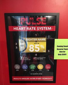 Exciting news! We will be implementing the PULSE HEART RATE MONITOR system! Reserve yours now at the introductory price of $50. #team9round #heartratemonitors #cardio #team9round #trainerincluded #firstworkoutfree #kickboxing #sweattherapy #motivation #challenge #fitness #getfit