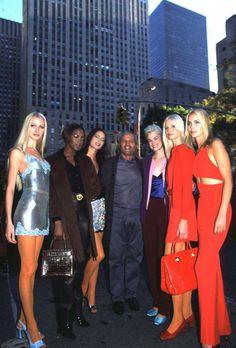 Gianni Versace stilista - Versace, inaugurazione boutique New York 1996