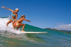 -Bethany Hamilton & Alana Blanchard Can't wait to try this with my Best Friend!!<3
