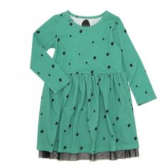 Koolabah οργανικό φόρεμα - Black seeds