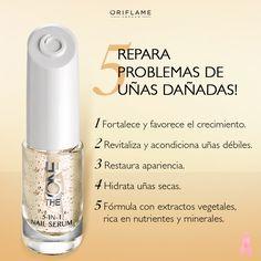 #OriTip: Aplícalo sobre tus uñas limpias y deja que se absorba. Espera 30 min. antes de aplicar tu esmalte de color. Úsalo como tratamiento nocturno de 2-3 veces por semana (sobre uñas sin emalte).
