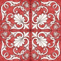 PAVIMENTI - PANNELLI SOLIMENE ART - Ceramica Vietri Sul Mare