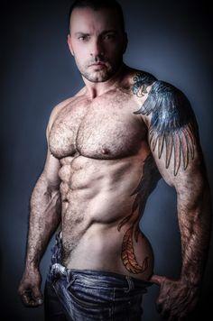 Tattooed Gays Jizzy Sex