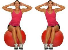 The ball is an excellent tool for building strength, balance and stability. Try this beginner ball workout to increase your core strength and work on your balance. mobility exercises for beginners Fitness Workouts, At Home Workouts, Fitness Tips, Bike Workouts, Swimming Workouts, Swimming Tips, Cycling Workout, Fitness Logo, Balance Ball Exercises
