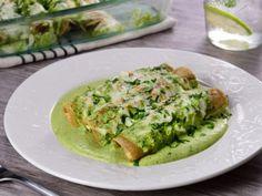 Receta de Enchiladas de Pollo con Chile Poblano