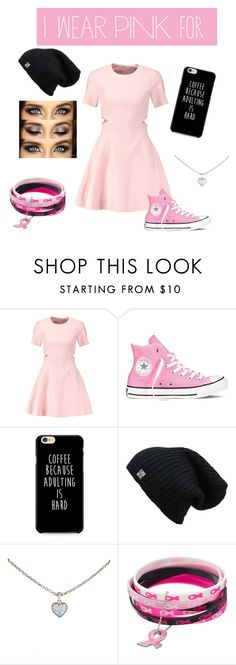 """""""Everyone"""" by phionex ❤ liked on Polyvore featuring Elizabeth and James, Converse, Cartier and IWearPinkFor"""