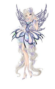 Butterflix couture by Lissaveta.deviantart.com on @DeviantArt