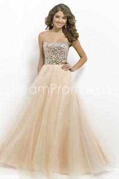 2014 Floor-length Sweetheart Sleeveless Tulle Prom Dresses / Ball Gowns