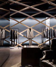 Detail of Hugo Boss Concept Store, New York (US), 2007–08