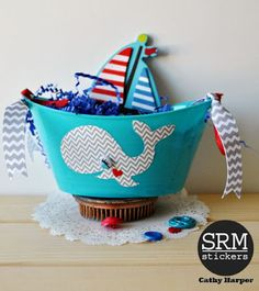 SRM Stickers: A whale of a good time with SRM Patterned Vinyl by Cathy Patterned Vinyl, Turning, Whale, Nautical, September, Daughter, Stickers, Navy Marine, Whales